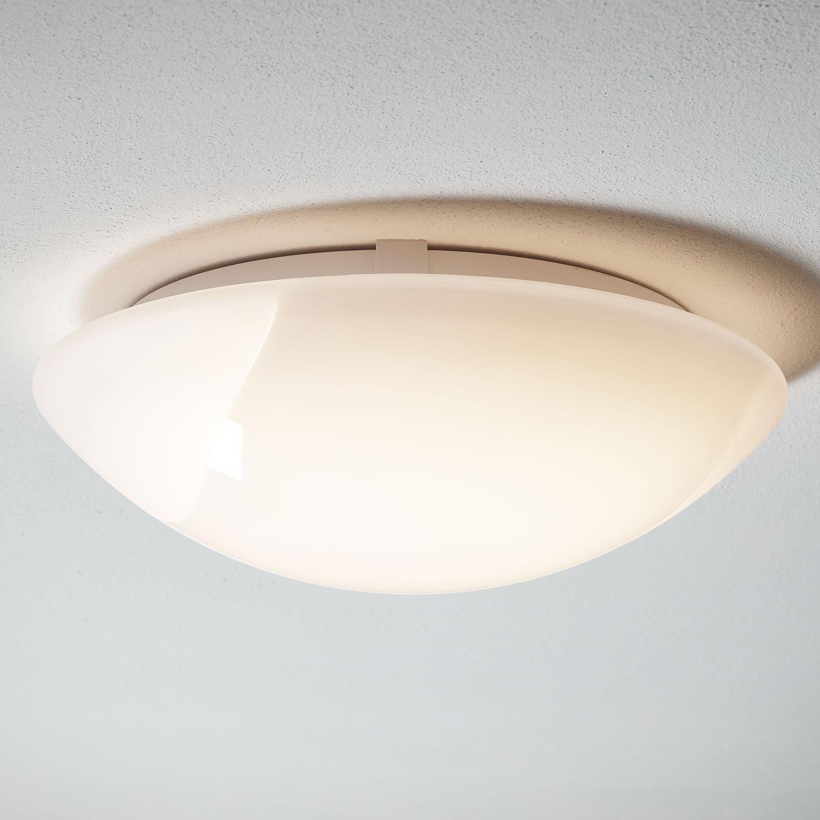 LED-taklampe Gilbert av glas, 40 cm
