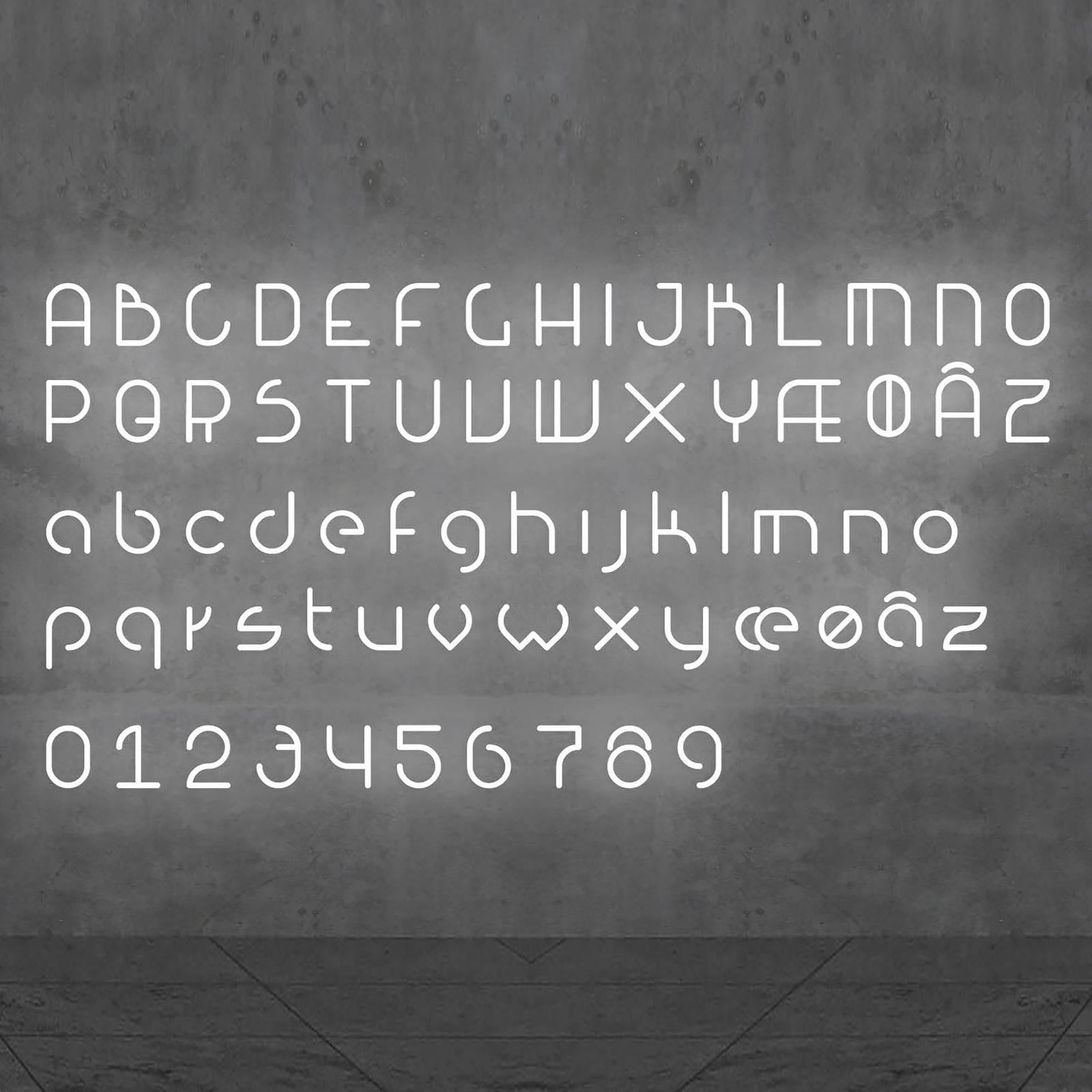 Artemide Alphabet of Light Wandleuchte Zahl 2