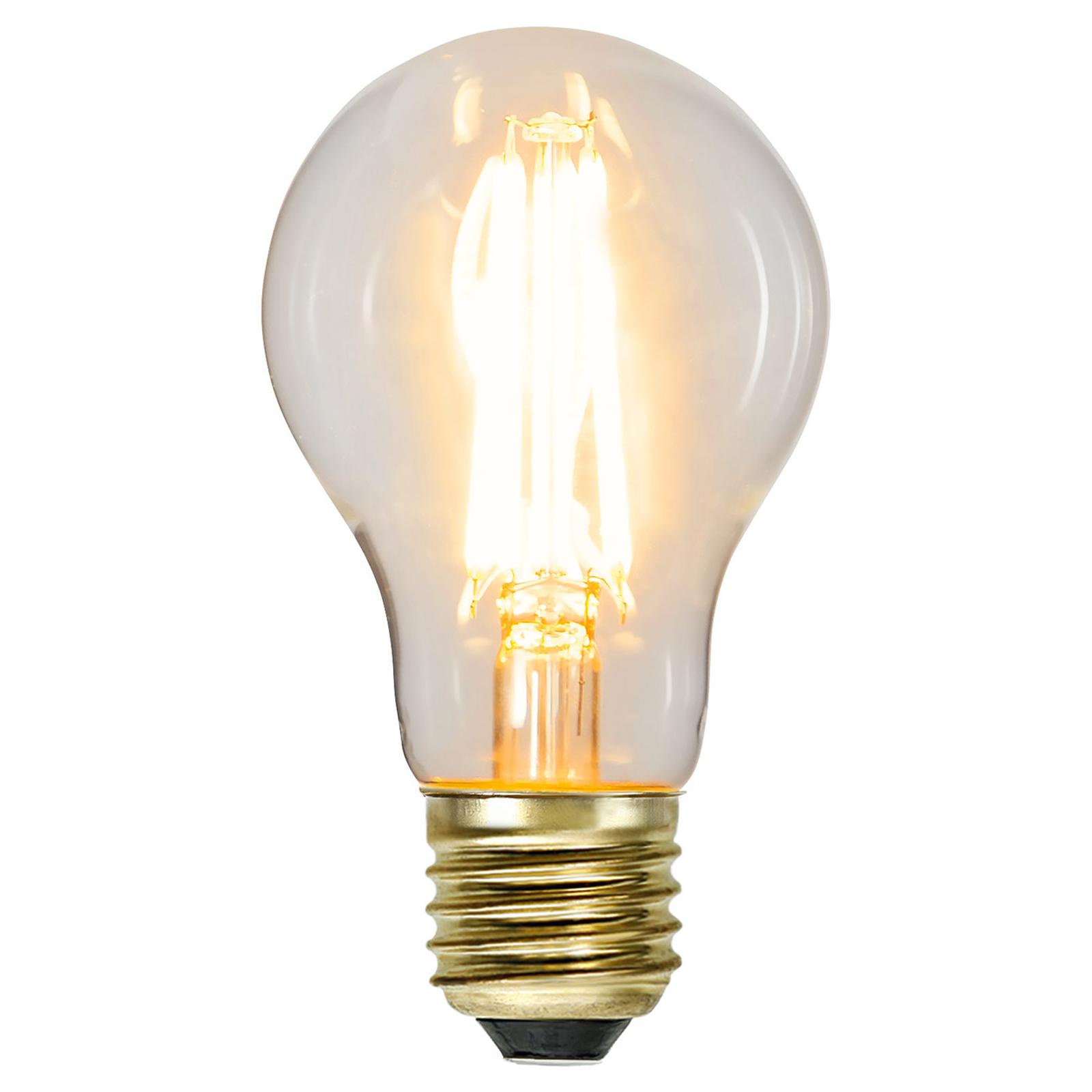 LED-pære E27 6,5W Soft Glow 2100 K 3-trinn dimbar