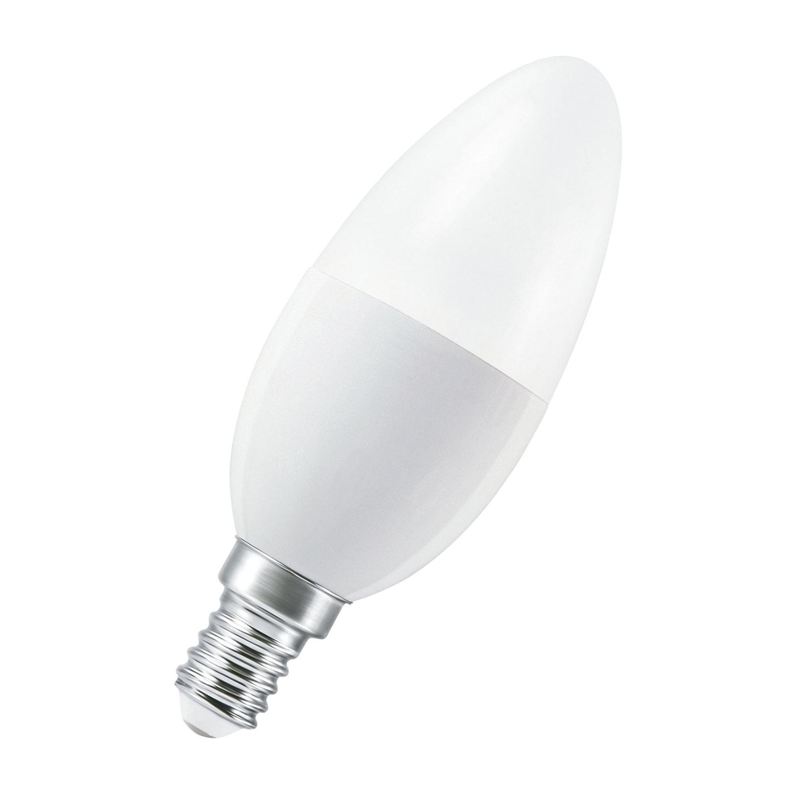 LEDVANCE SMART+ WiFi E14 5W Kerze 2.700K
