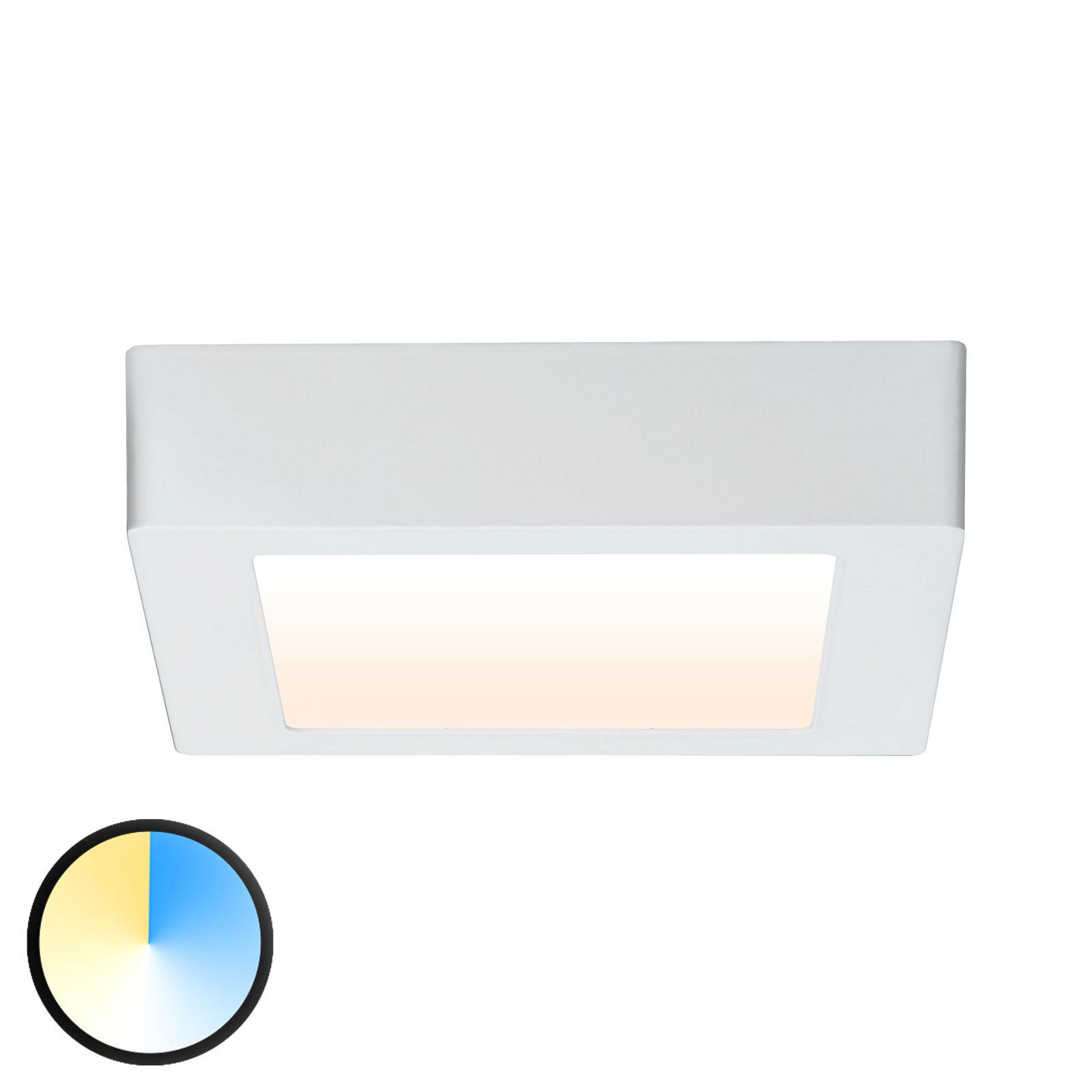 Paulmann Carpo LED plafondlamp wit 17x17cm