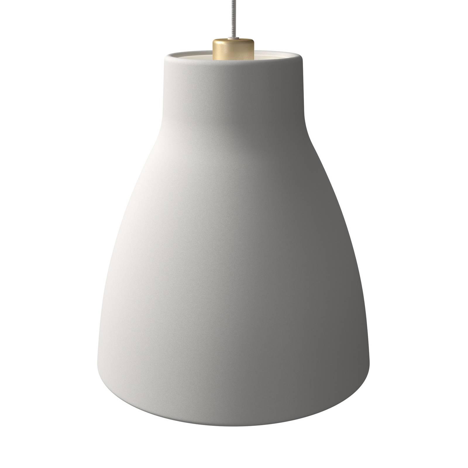 Pendelleuchte Gong, Ø 32 cm, weiß