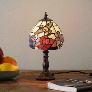 Piękna lampa stołowa IRENA w stylu Tiffany