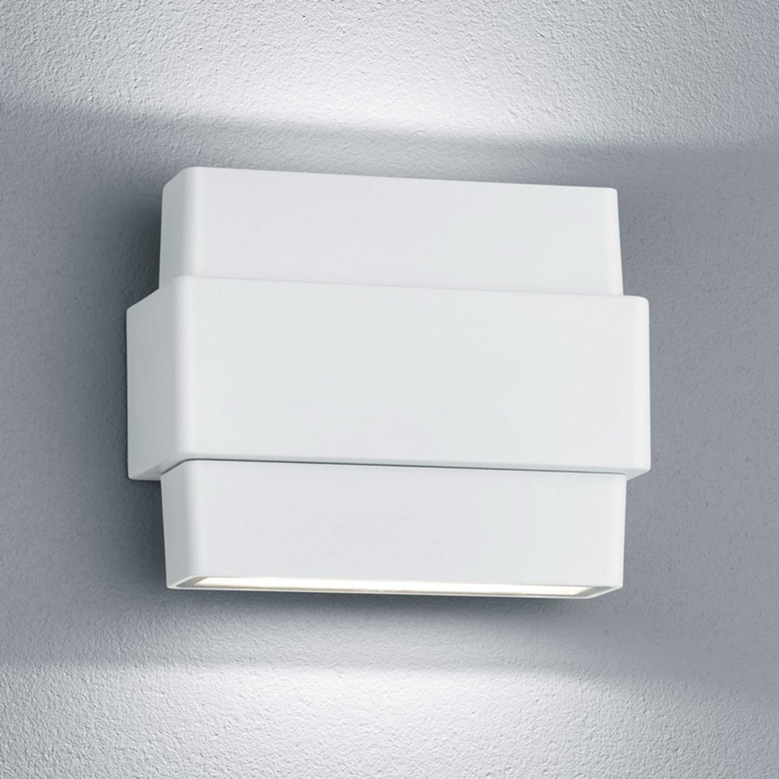 Applique d'extérieur LED Padma en blanc