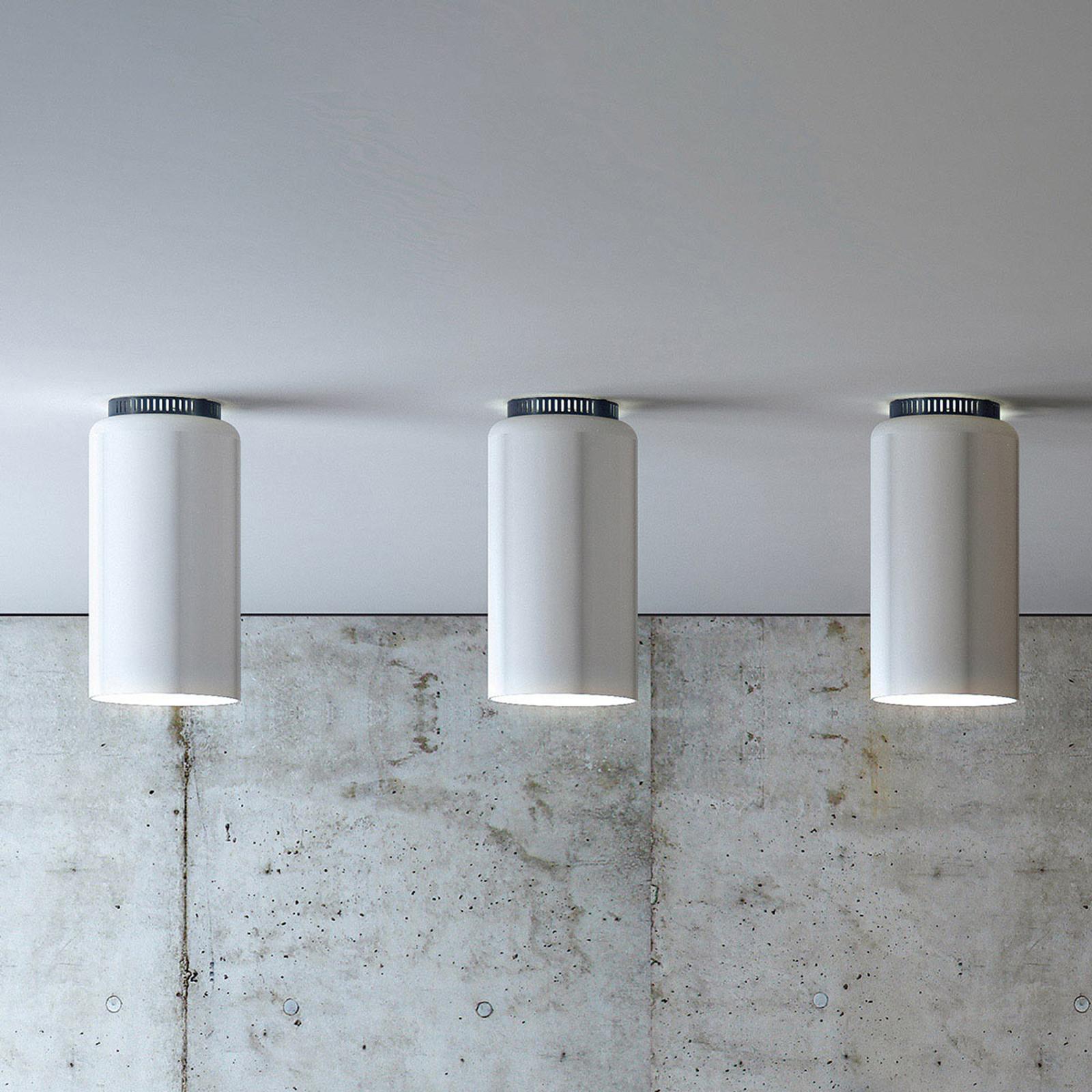 Plafonnier de designer rond Aspen C17B LED blanc