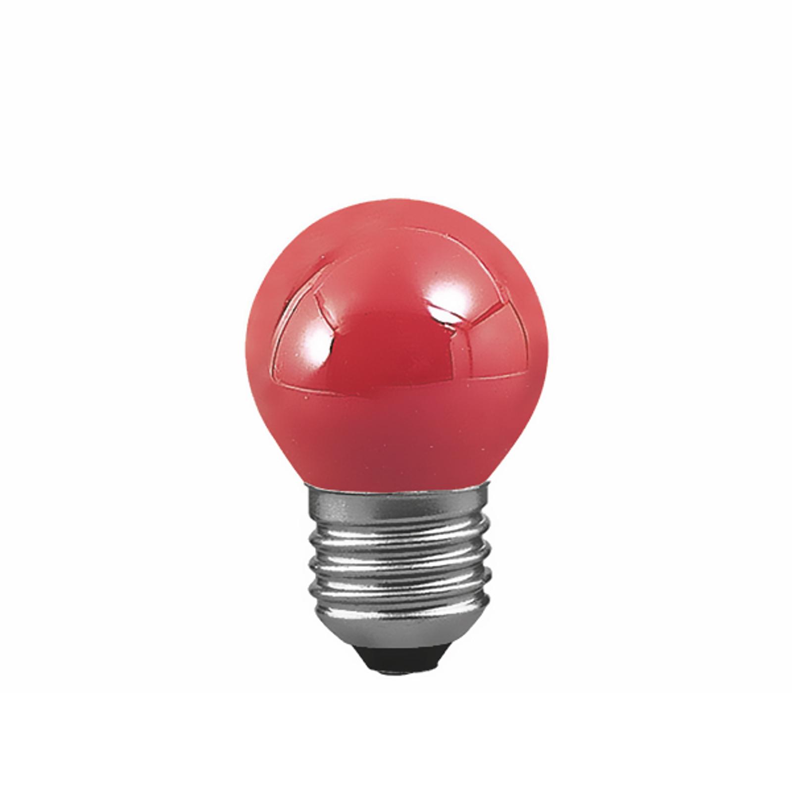 Paulmann E27 Tropfenlampe 25W, f.Lichterkette rot