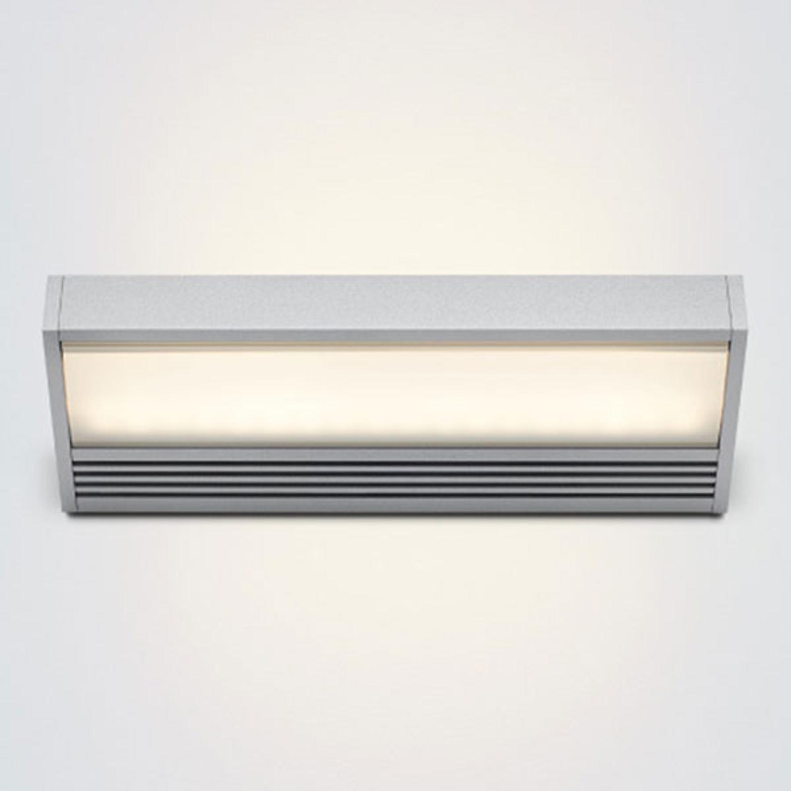 LED-vegglampe SML i sølv