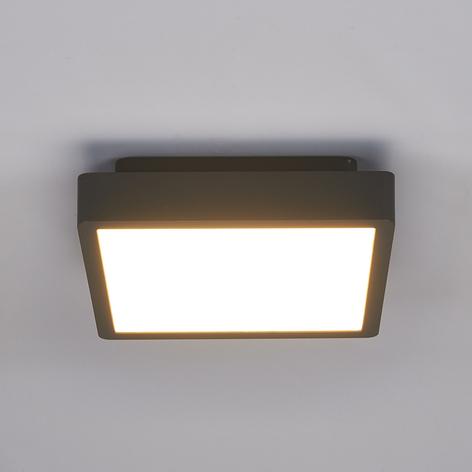 Vierkante led-buitenplafondlamp Talea
