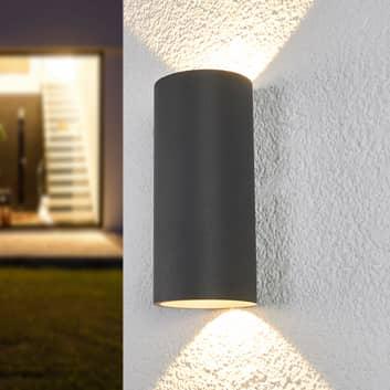 Applique murale LED cylindrique Helma pour l'ext