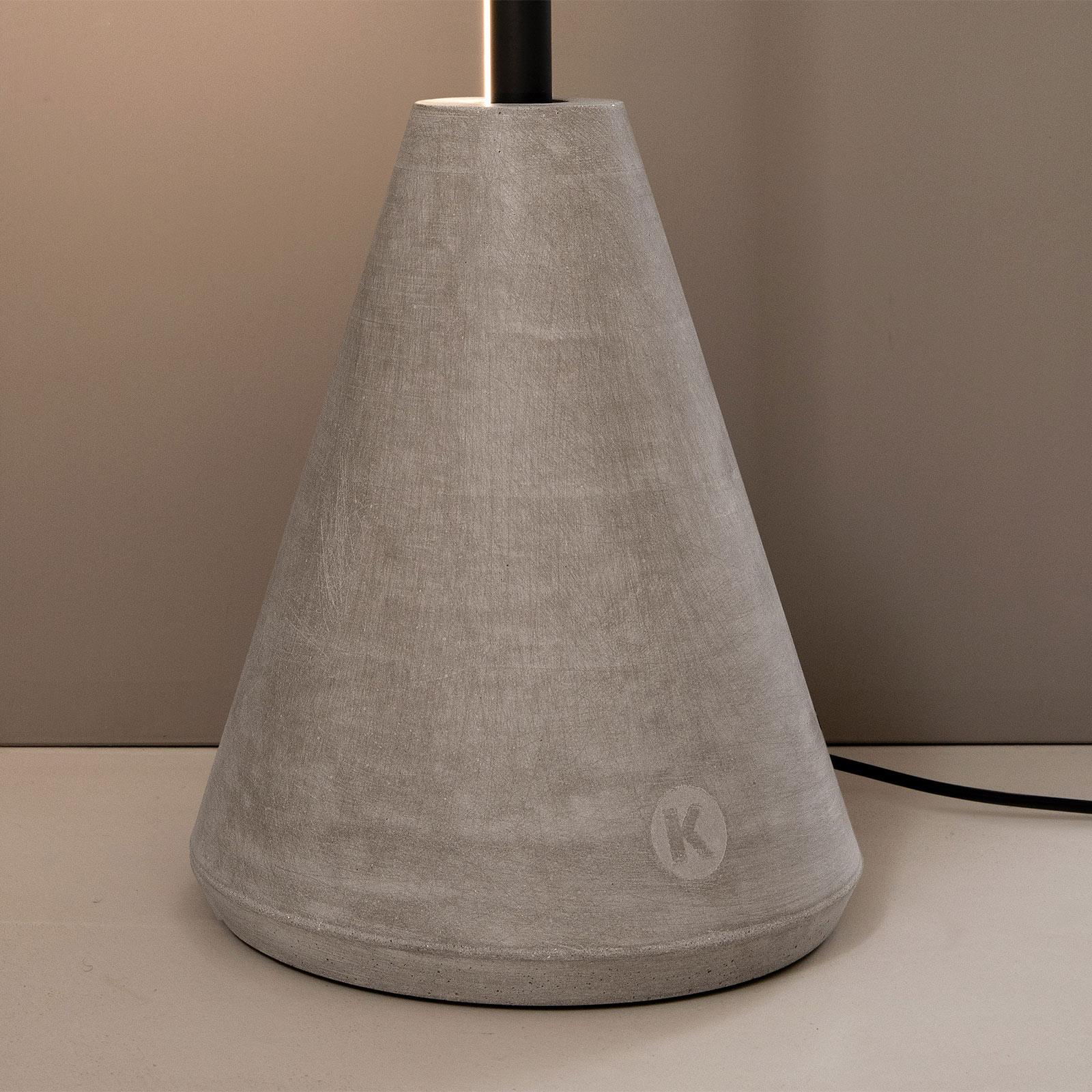 Karman Cupido abat-jour pour lampadaire LED