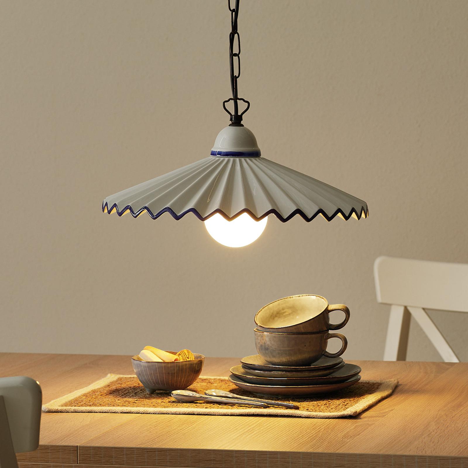 Hængelampe i landlig stil Augustus