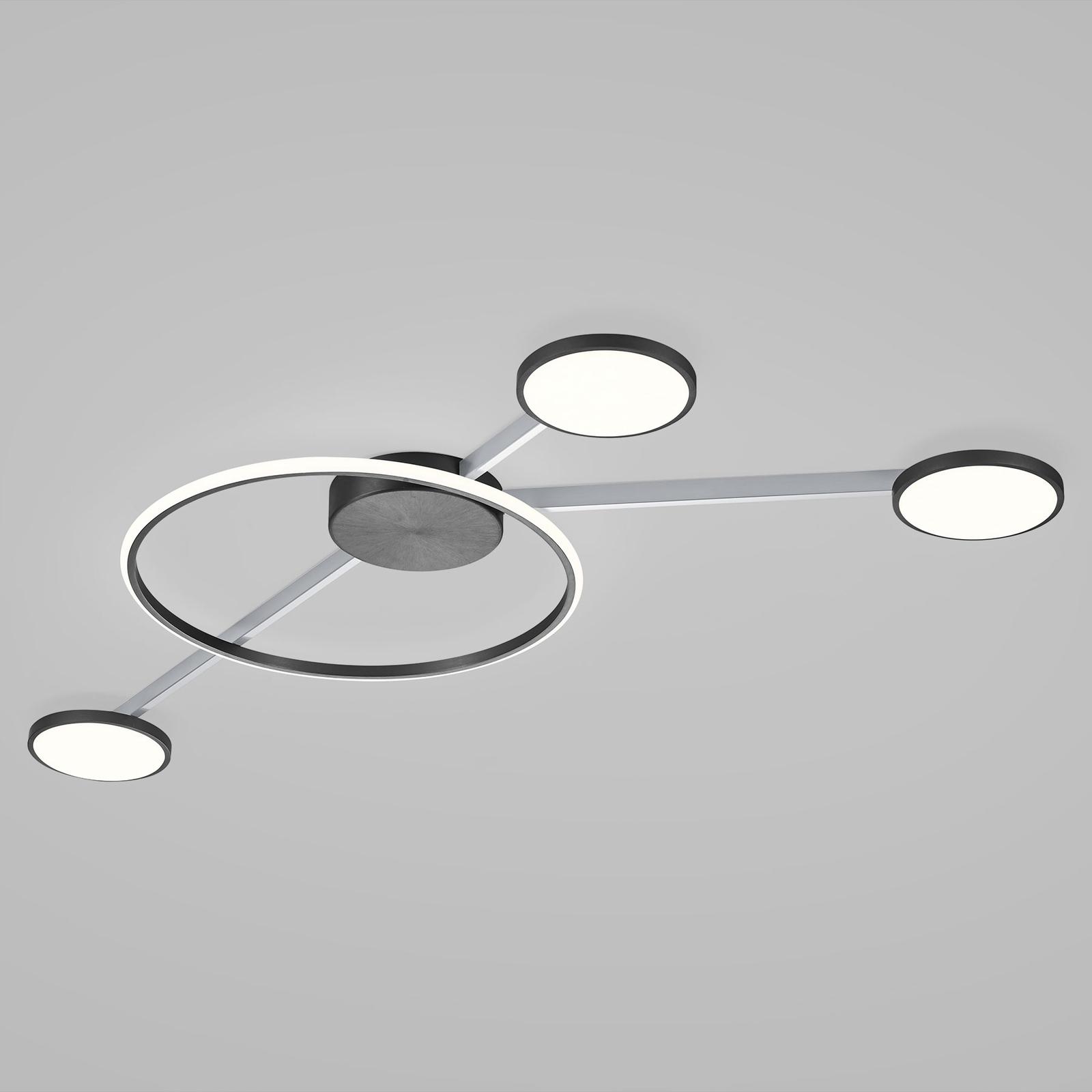 Lampa sufitowa LED Bopp Satellite, 4-pkt. smart