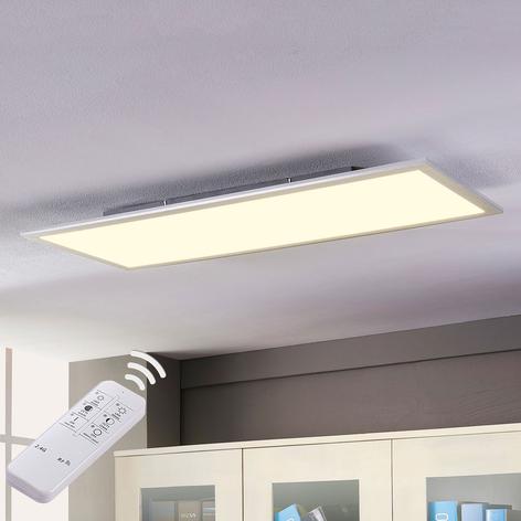 Lindby Livel panel LED, CCT, 120 cm x 30 cm