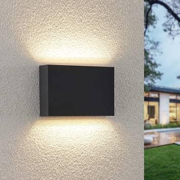 Lindby Jarte aplique LED de exterior 20 cm up/down