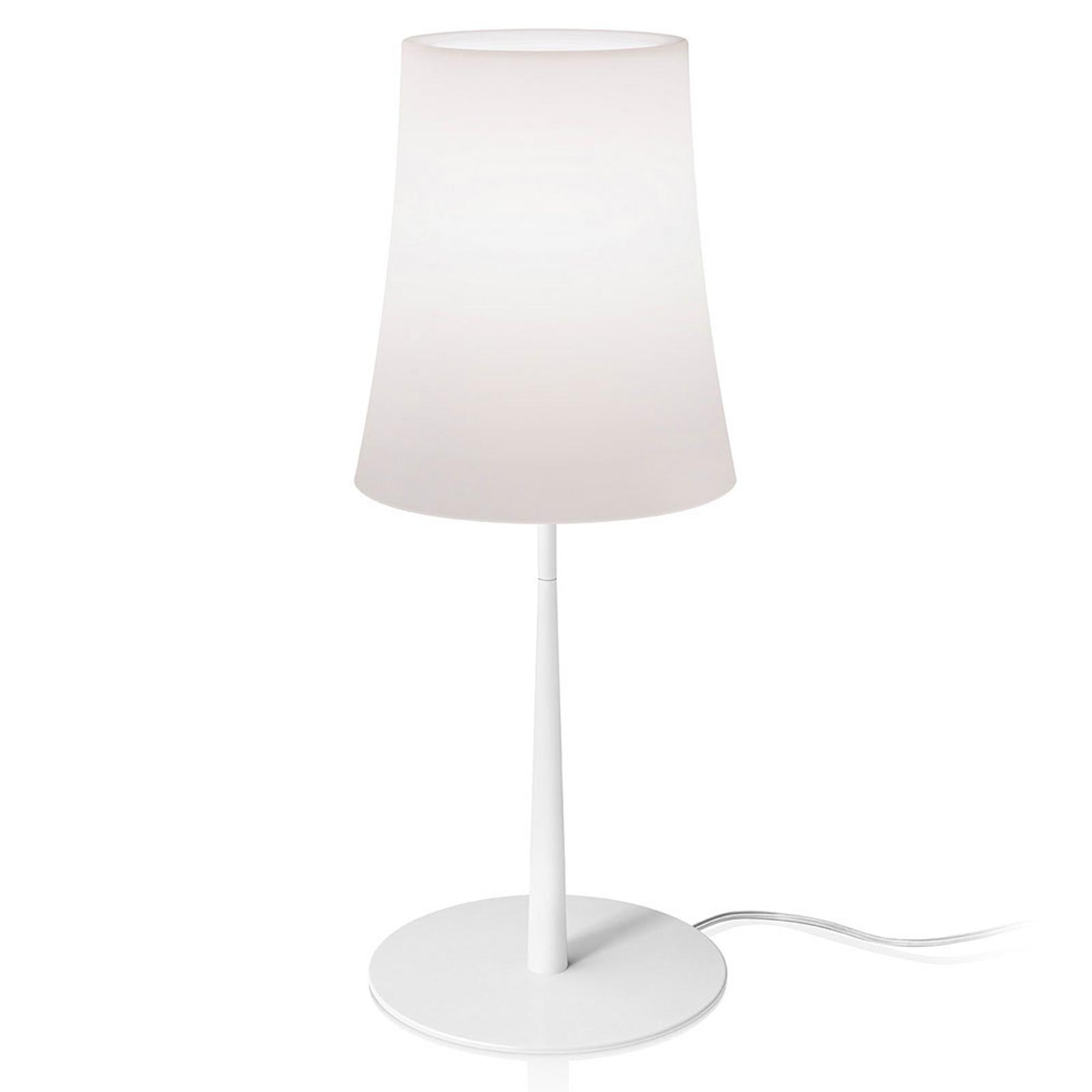 Foscarini Birdie Easy Grande Tischlampe weiß