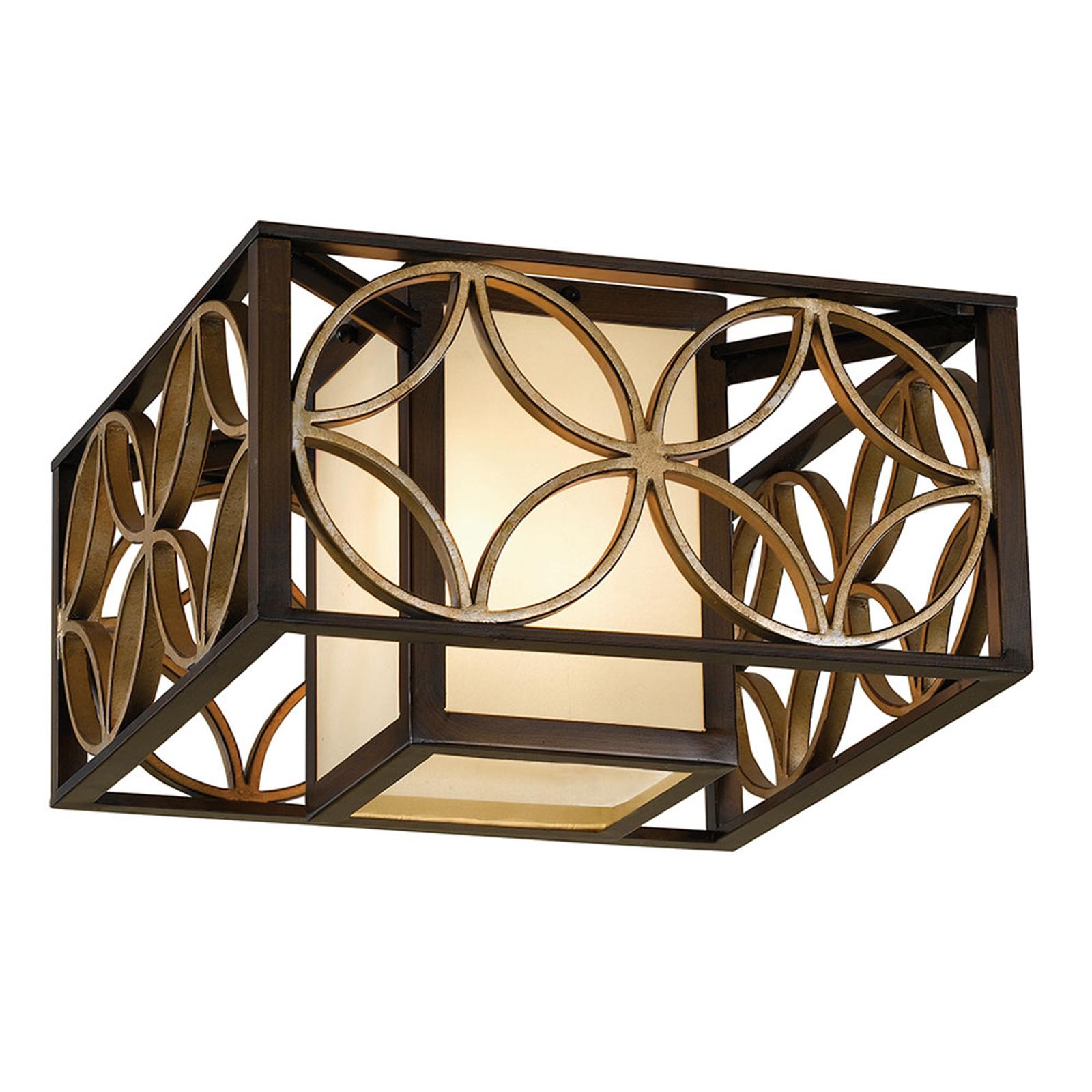 Lampa sufitowa Remy z brązowym wykończeniem