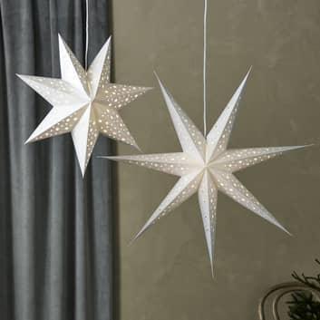 LED závěsná hvězda Blank, baterie, časovač