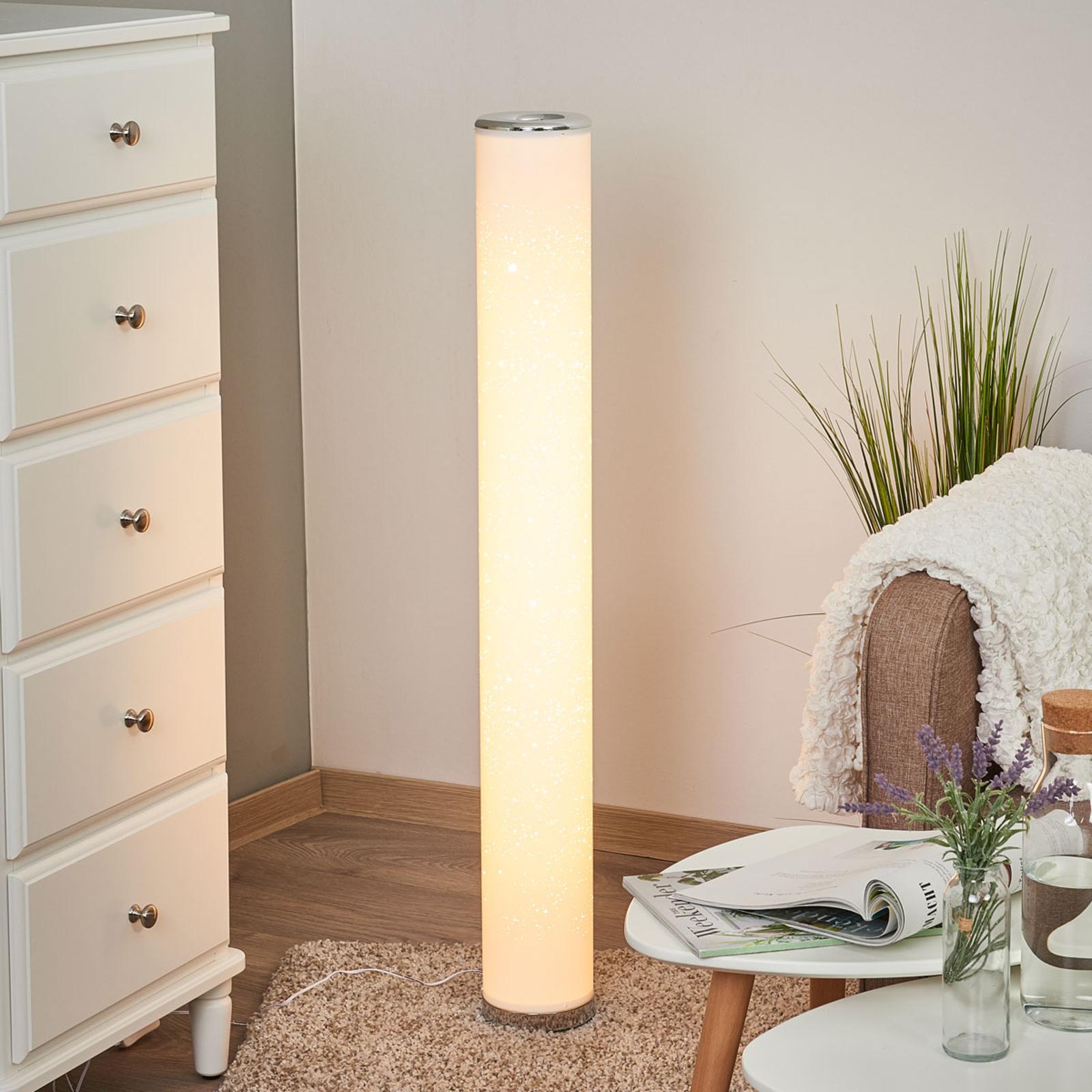 Lampadaire LED Ecris avec effet scintillant