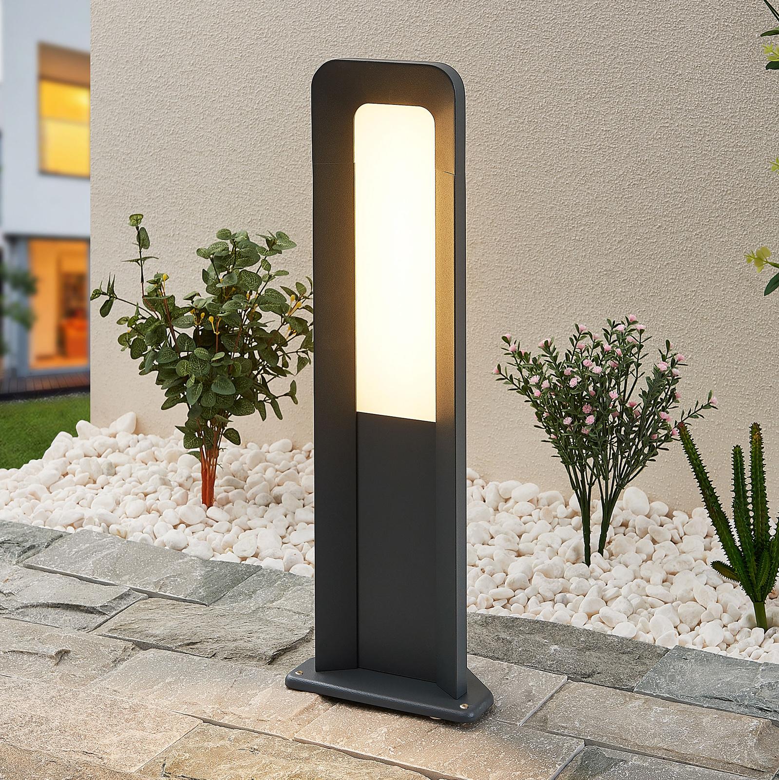 Lucande Secunda słupek oświetleniowy LED, 50 cm