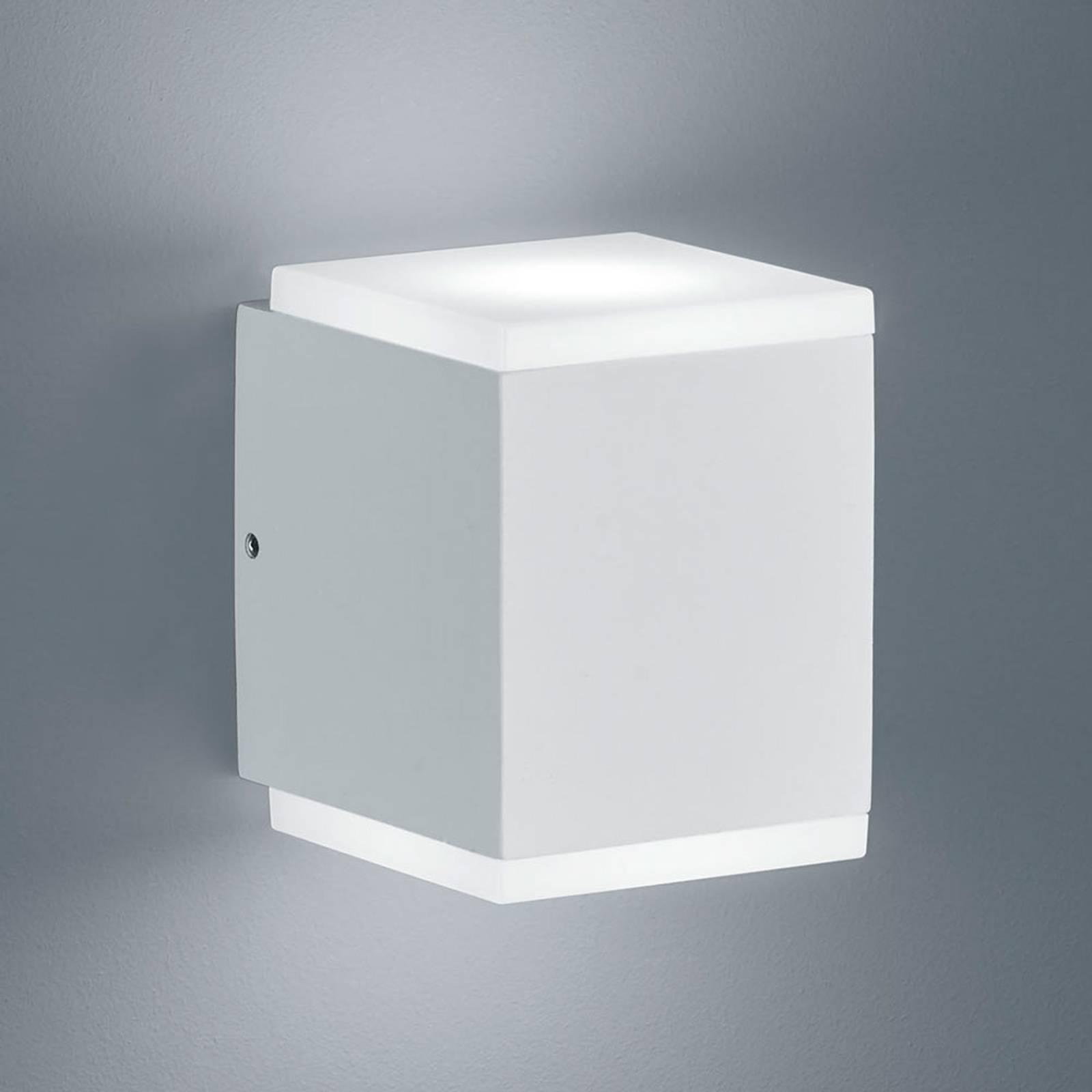 Helestra Kibo - LED buitenwandlamp, mat wit