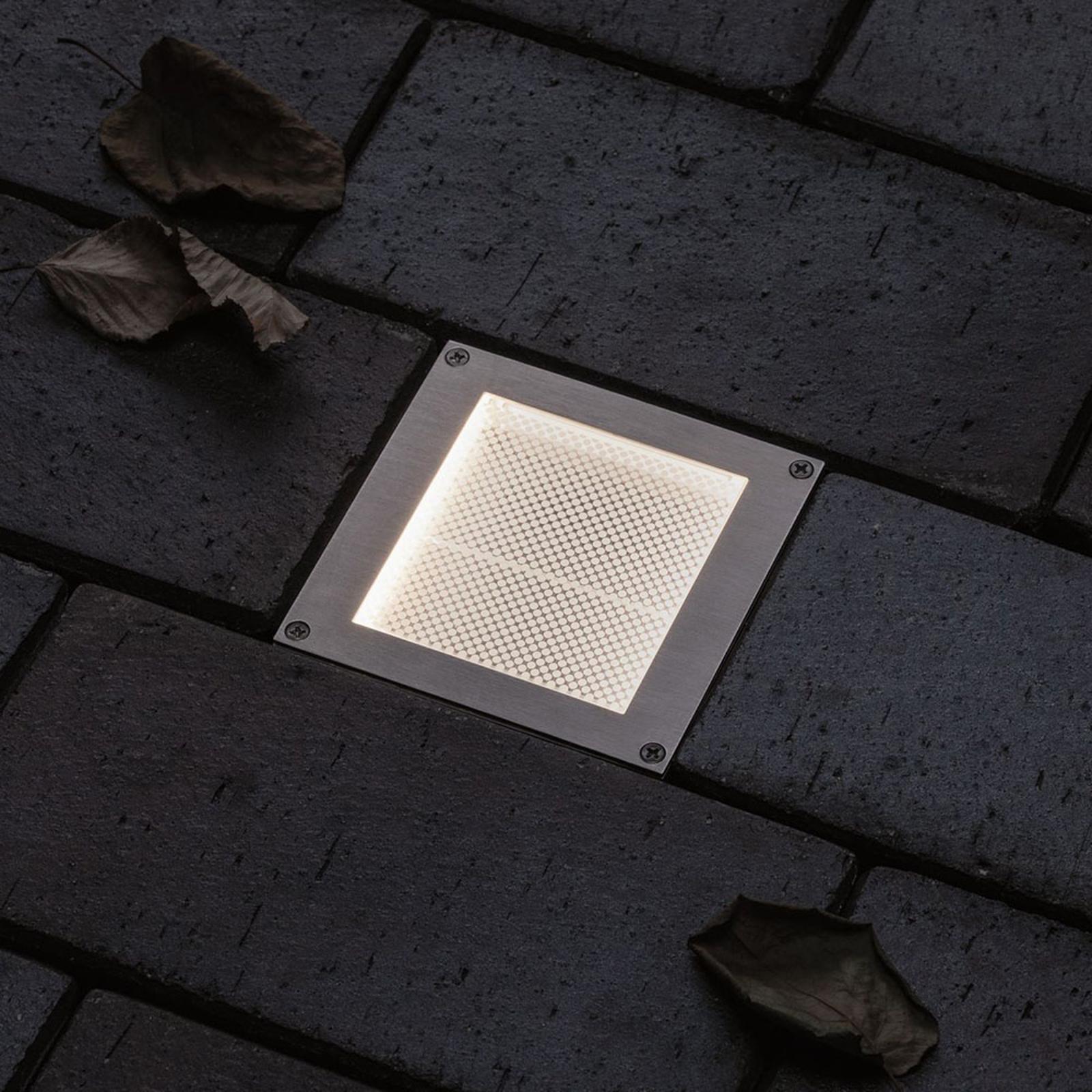 Paulmann Brick LED-Bodeneinbauleuchte, 10x10cm