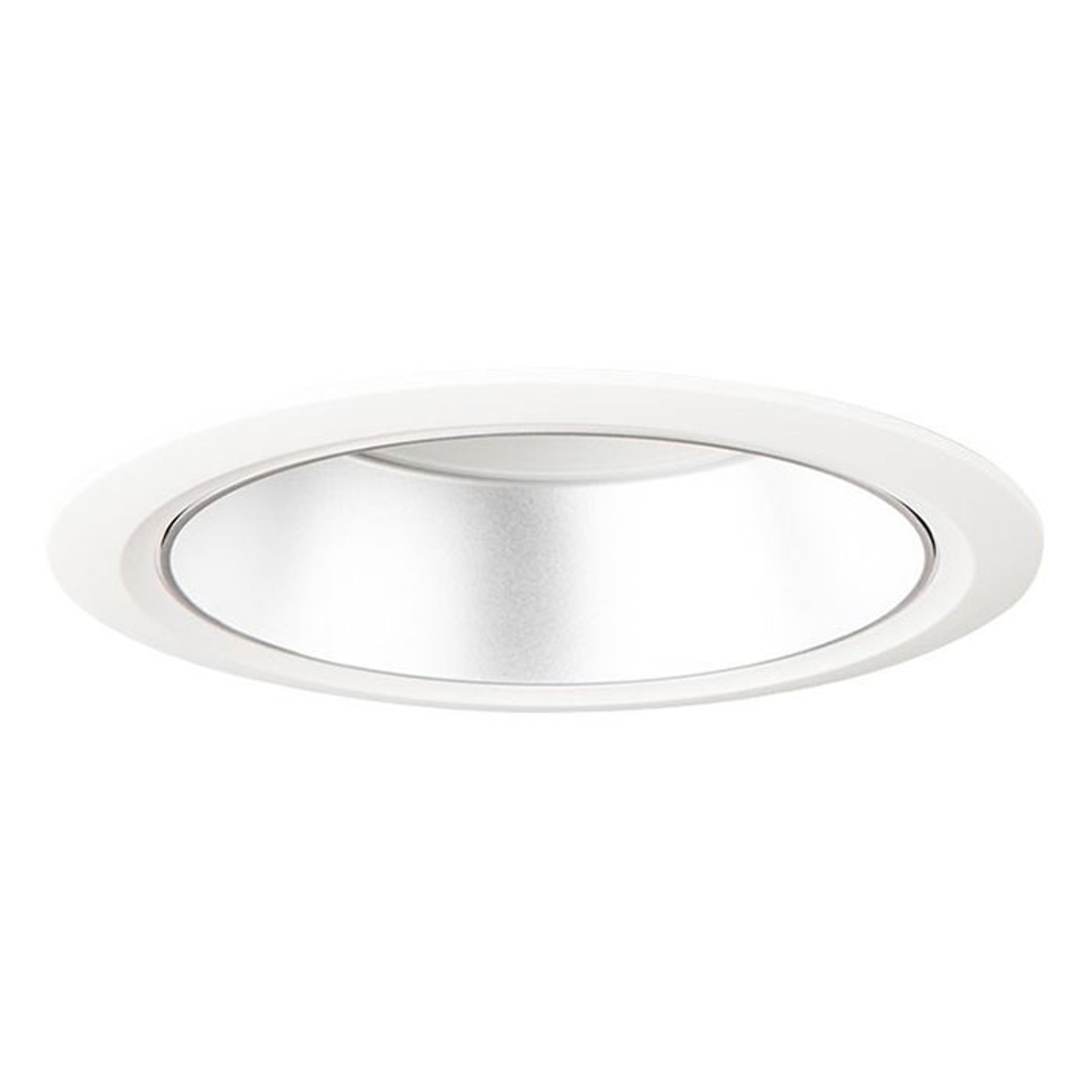 LED-Downlight D70-RF155 HF 4.000K weiß/silber matt