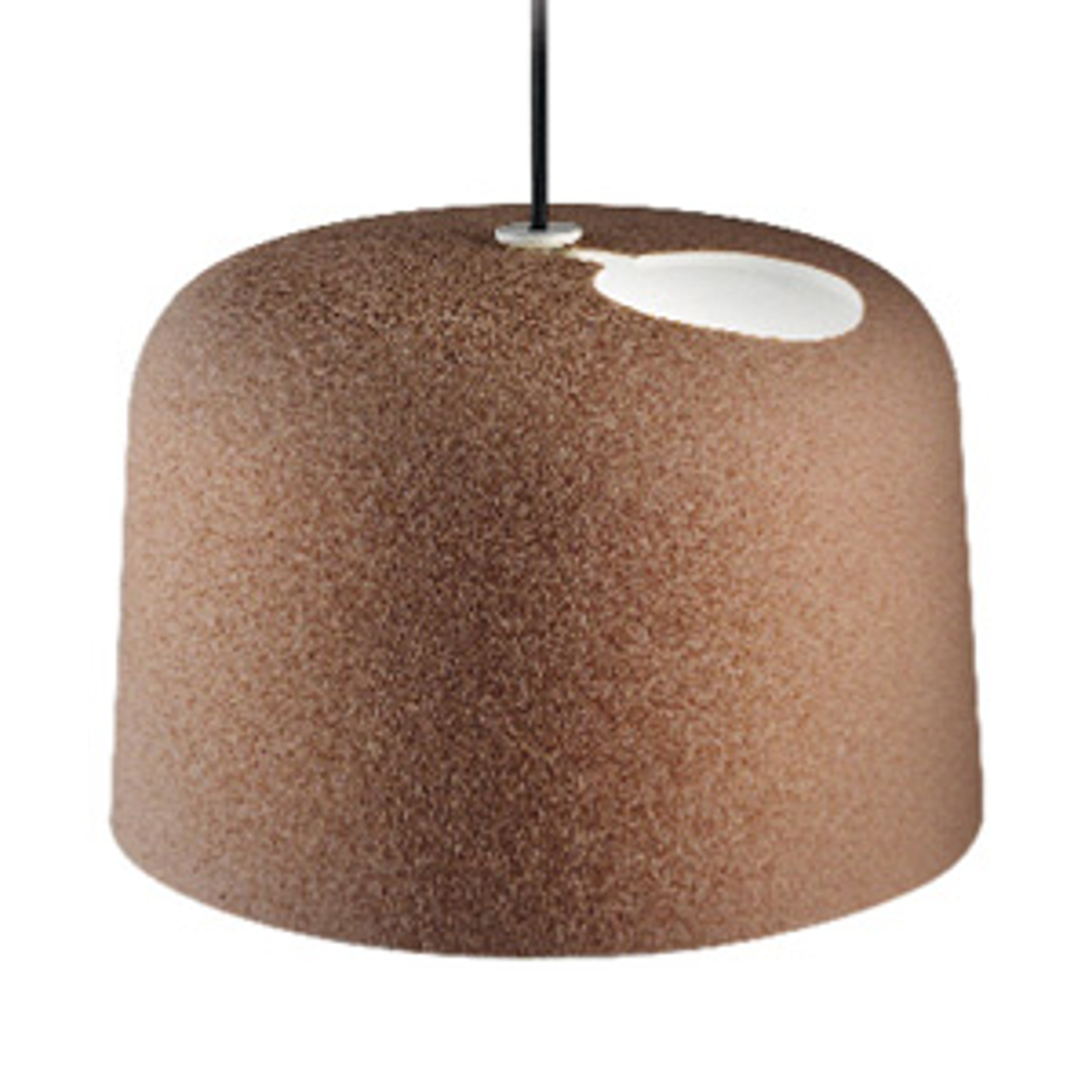Keramiek-hanglamp Add met mat finish
