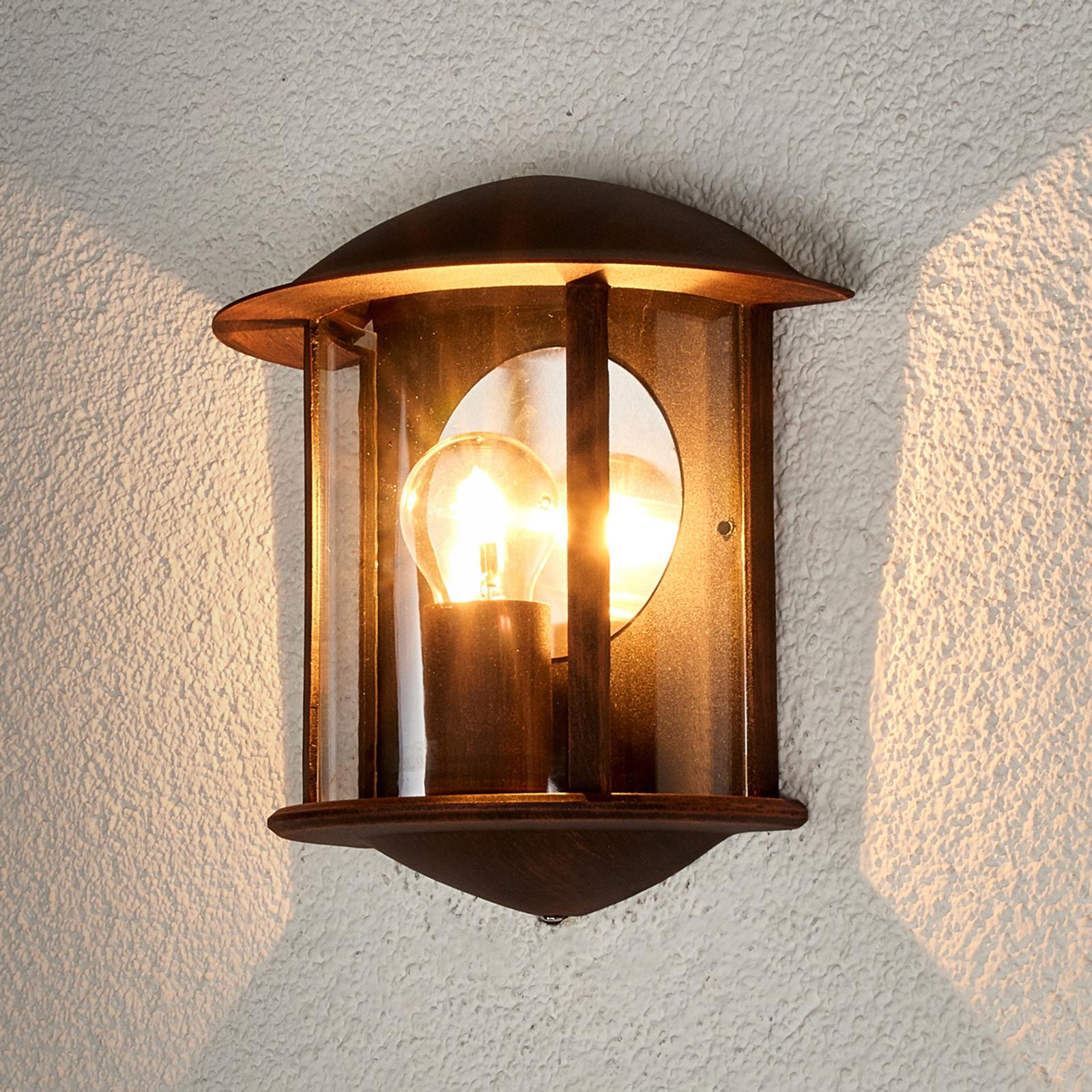 LED Applique d'extérieur Maelis aspect rouillé