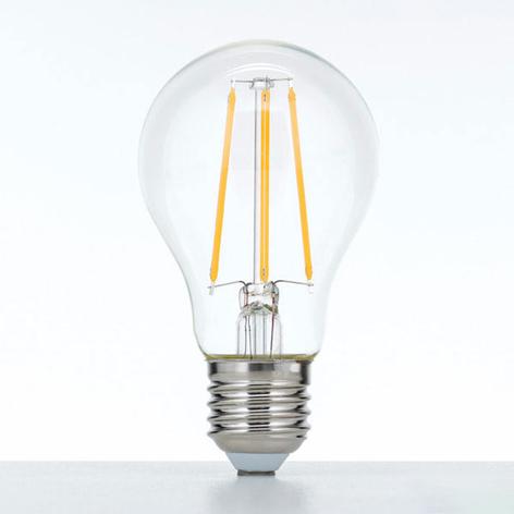 LED lamp E27 10W 2.700K filament helder dimbaar