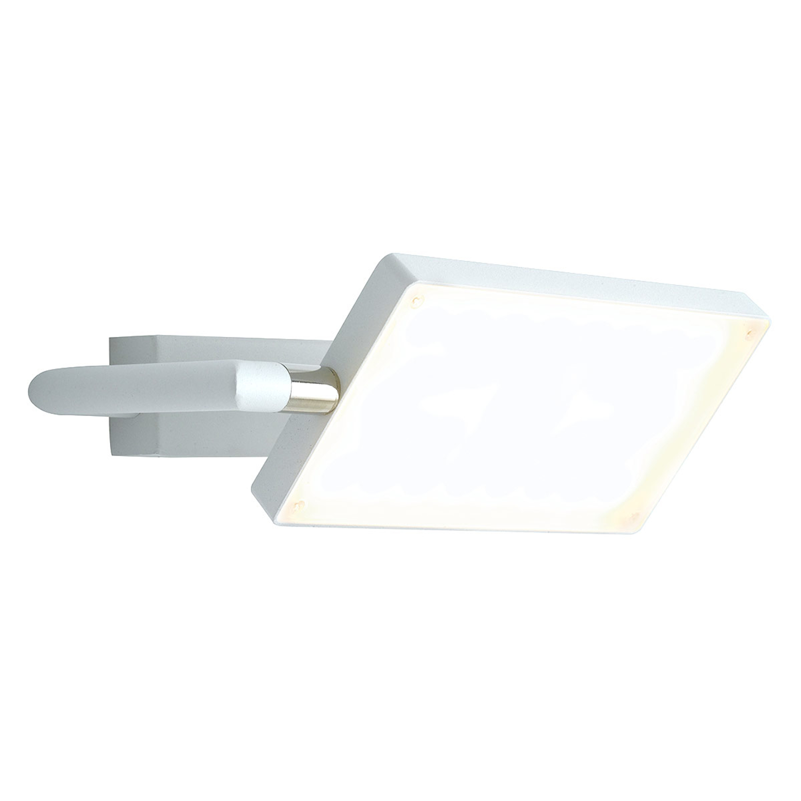 LED-vegglampe Book, hvit