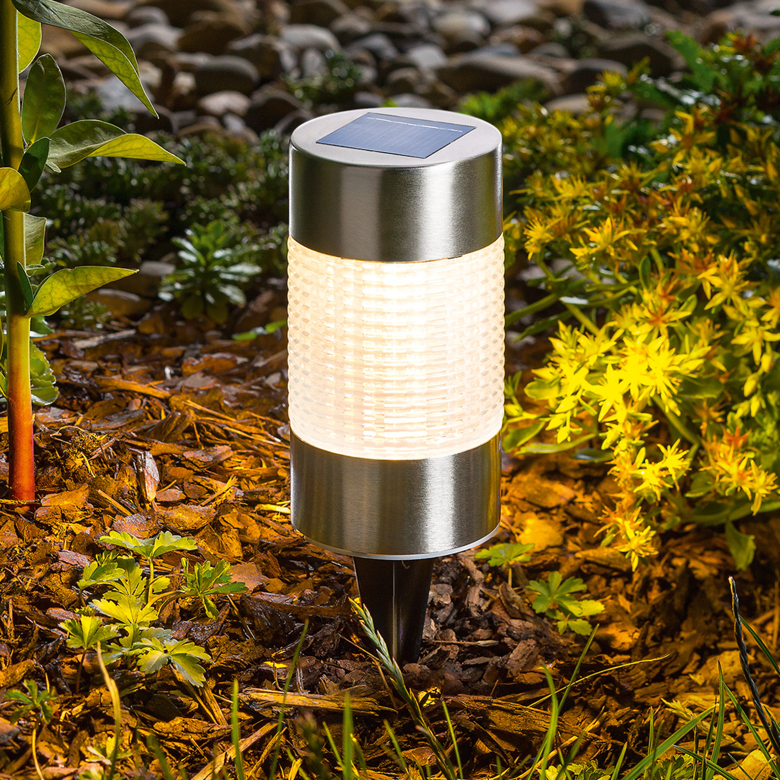 Snygg LED-solarlampa Puc Light