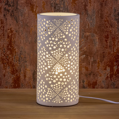 Lampada decorativa Bubbles di porcellana
