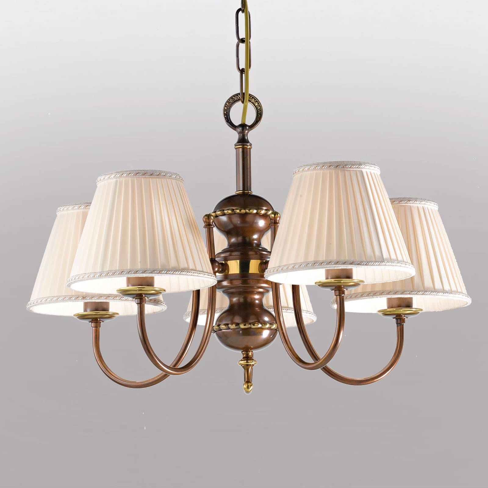 Suspension Classic à 5 lampes