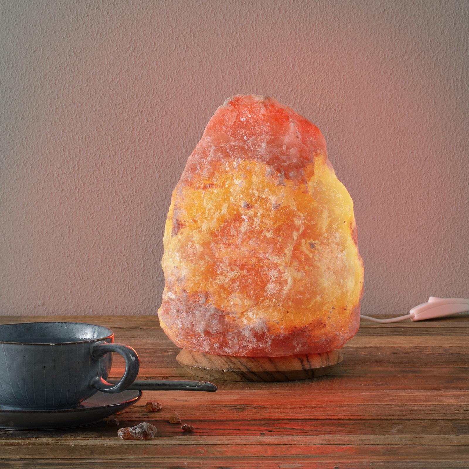 ROCK - Salzkristallleuchte 4-6 kg, Höhe ca. 23 cm
