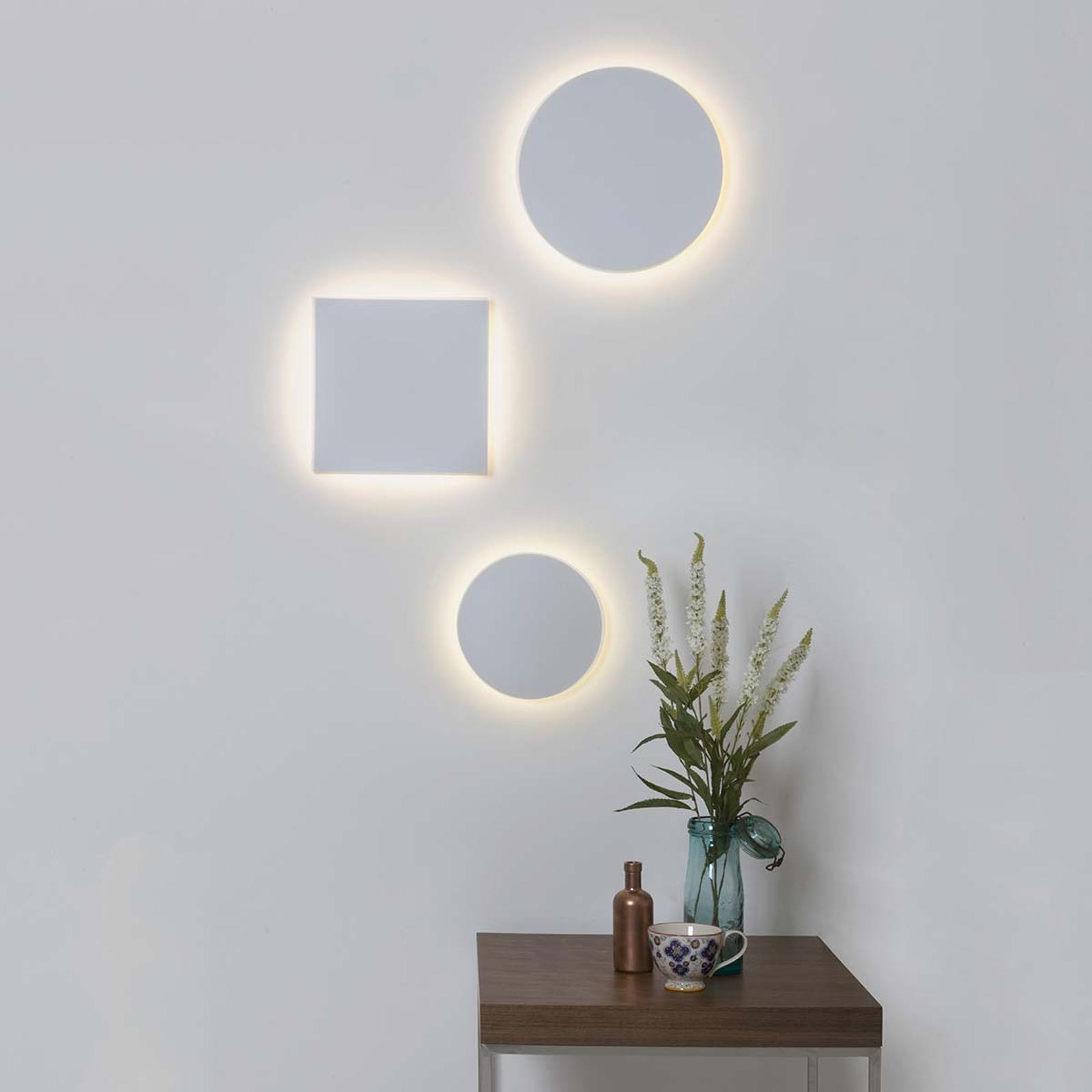 Eclipse Round: lámpara de pared LED de gran efecto