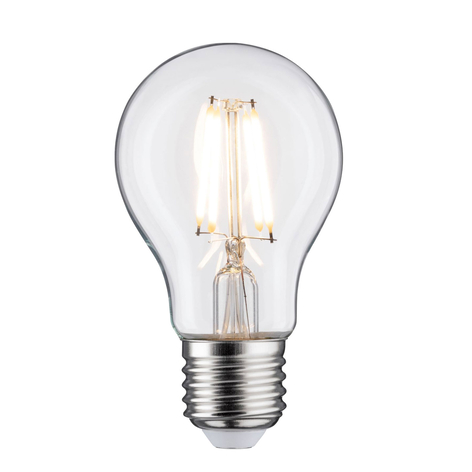 LED lamp E27 5W filament 2.700K helder dimbaar