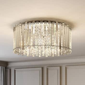 Lucande Limana křišťálové stropní světlo, 50 cm