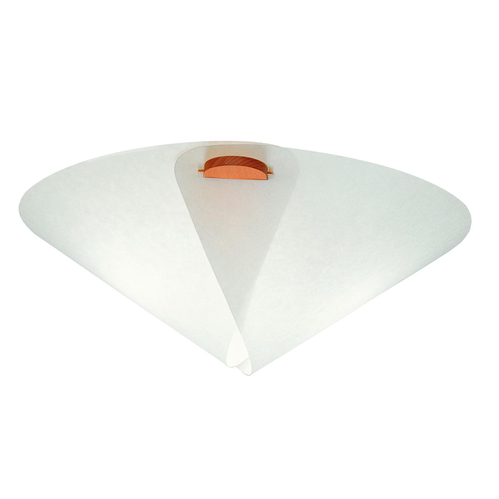 Sencilla lámpara de techo IRIS de Domus