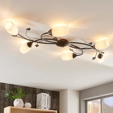 Romantisk LED loftlampe Stefania