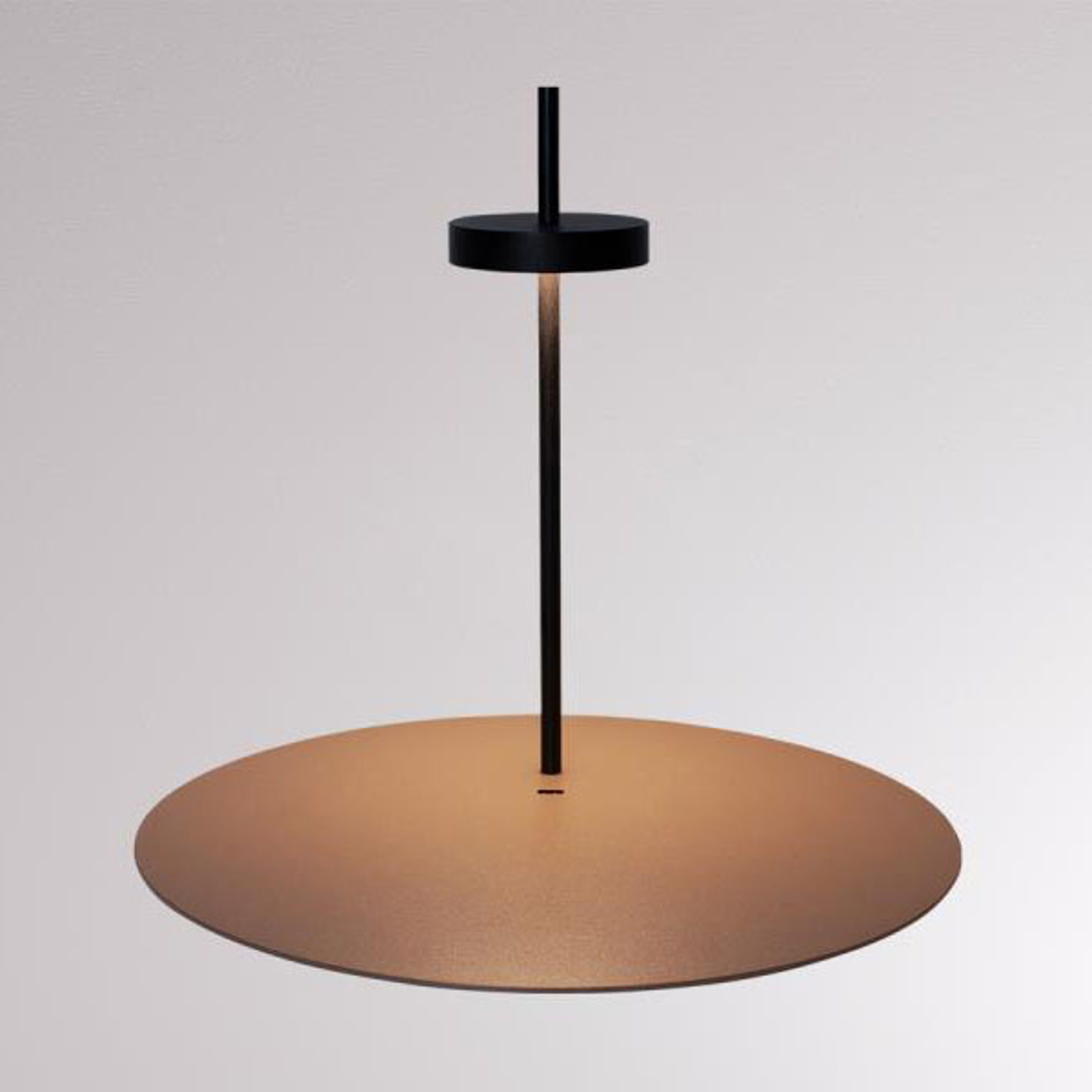 LOUM Scave LED tafellamp met sensordimmer terra