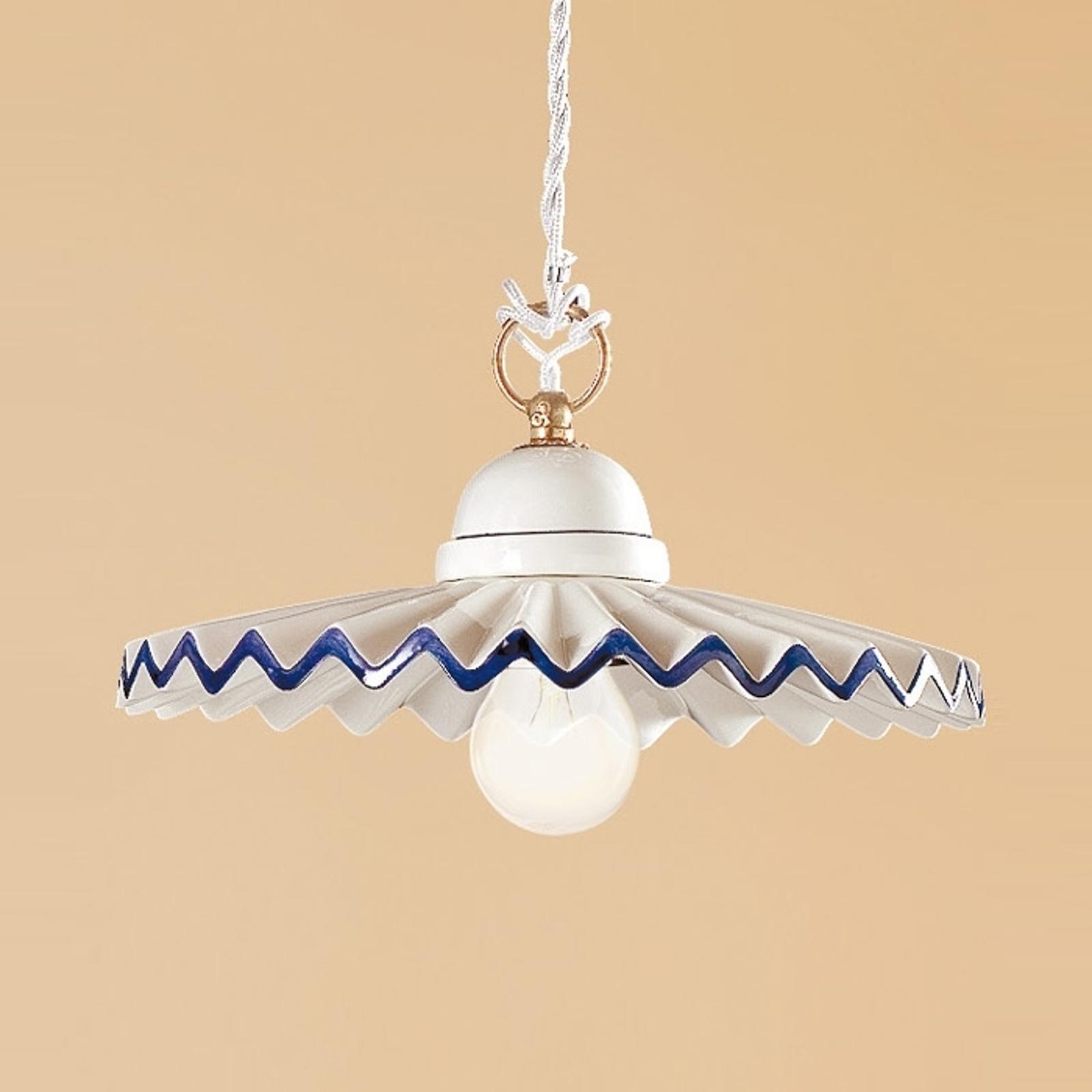 PIEGHE lampa w stylu dworkowym 28 cm