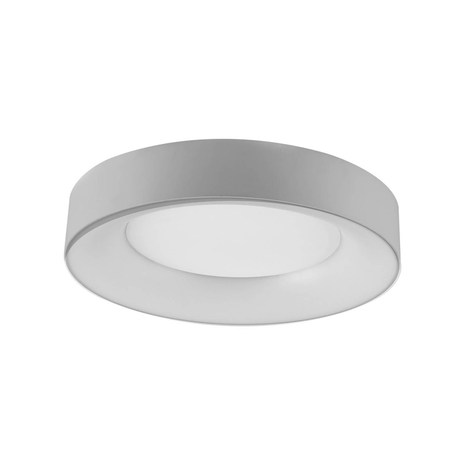LED-Deckenleuchte R40, Ø 40 cm, silber