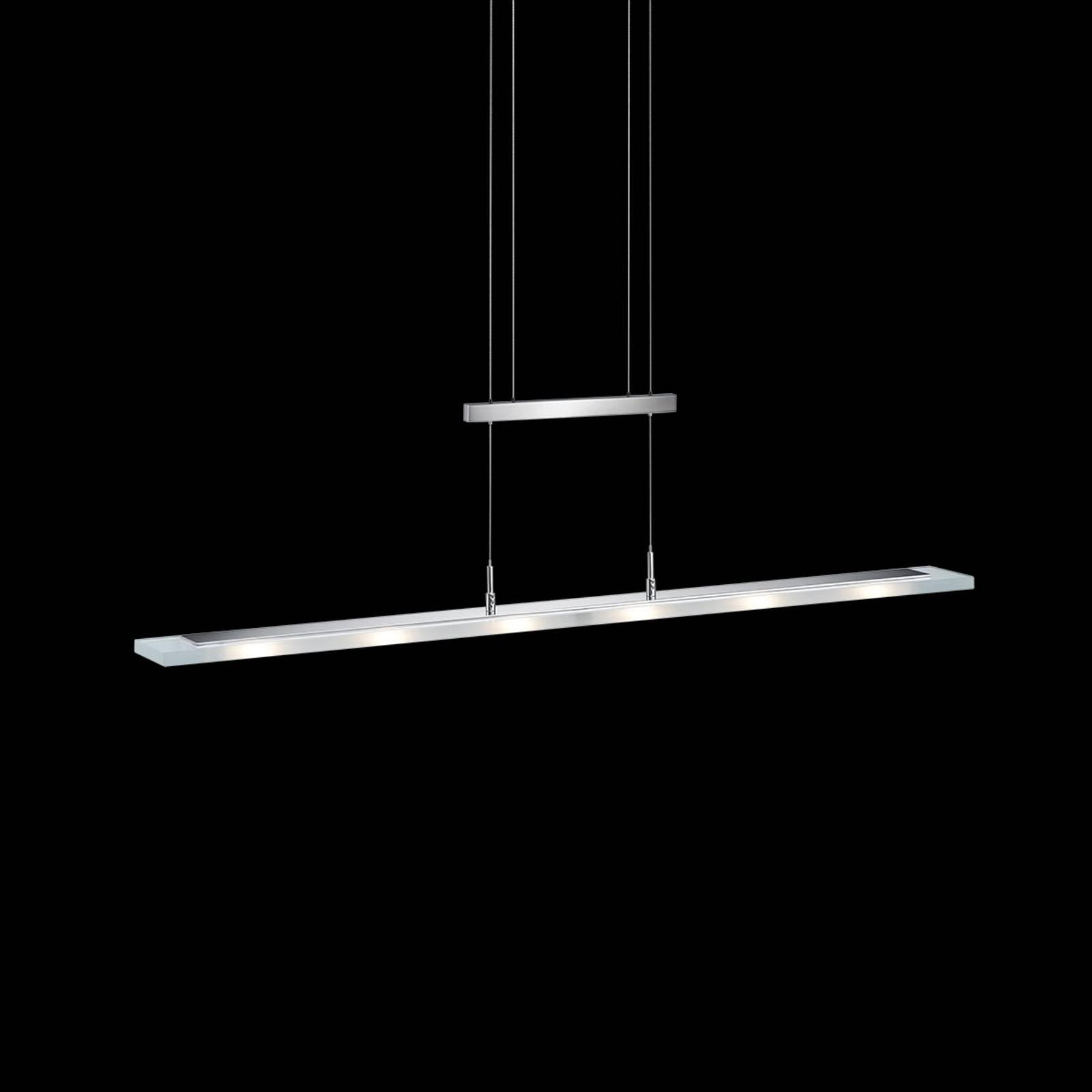 Nala - dimbare LED hanglamp, nikkel
