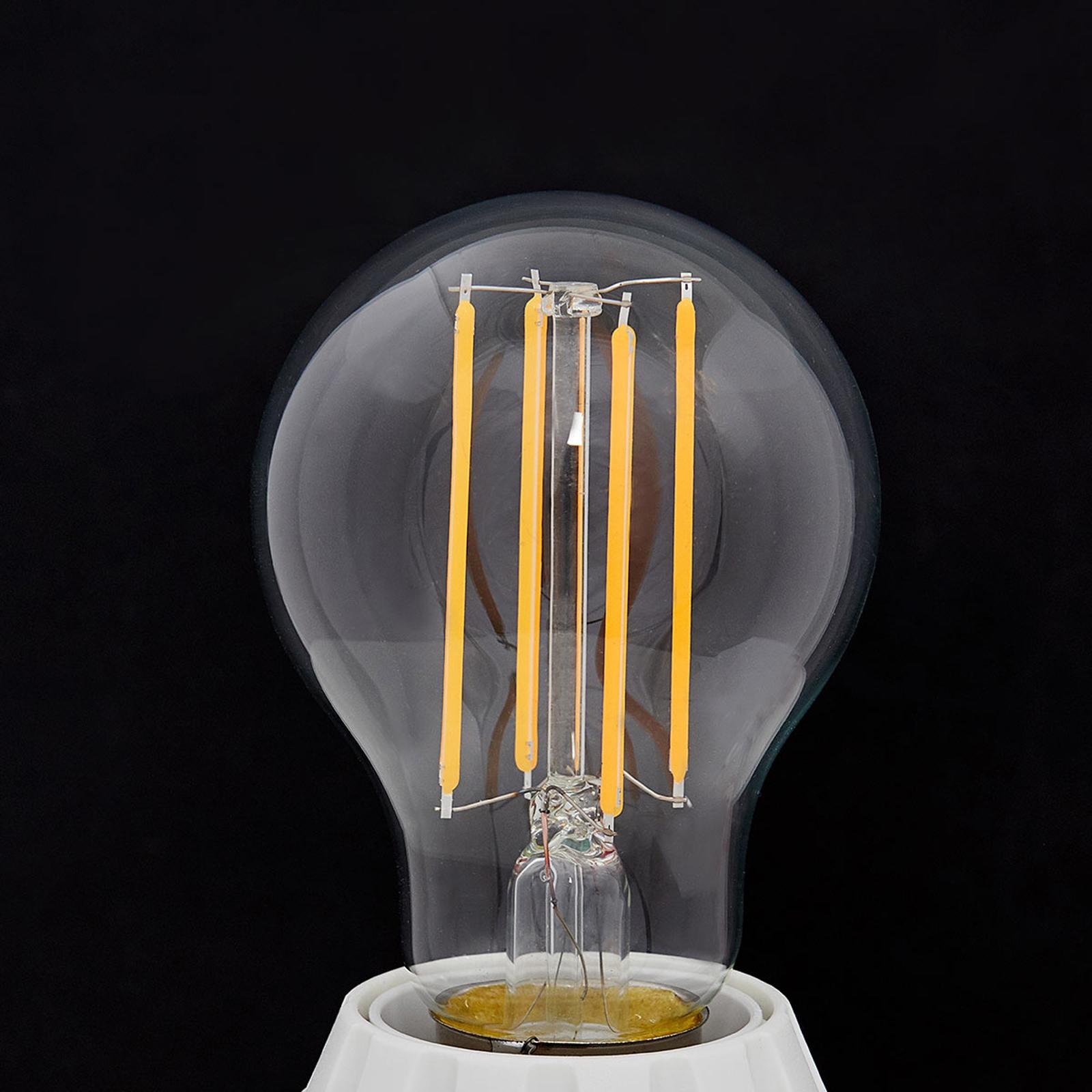 E27 LED-lamp gloeidraad 7W, 806Lm, 2.700K, helder