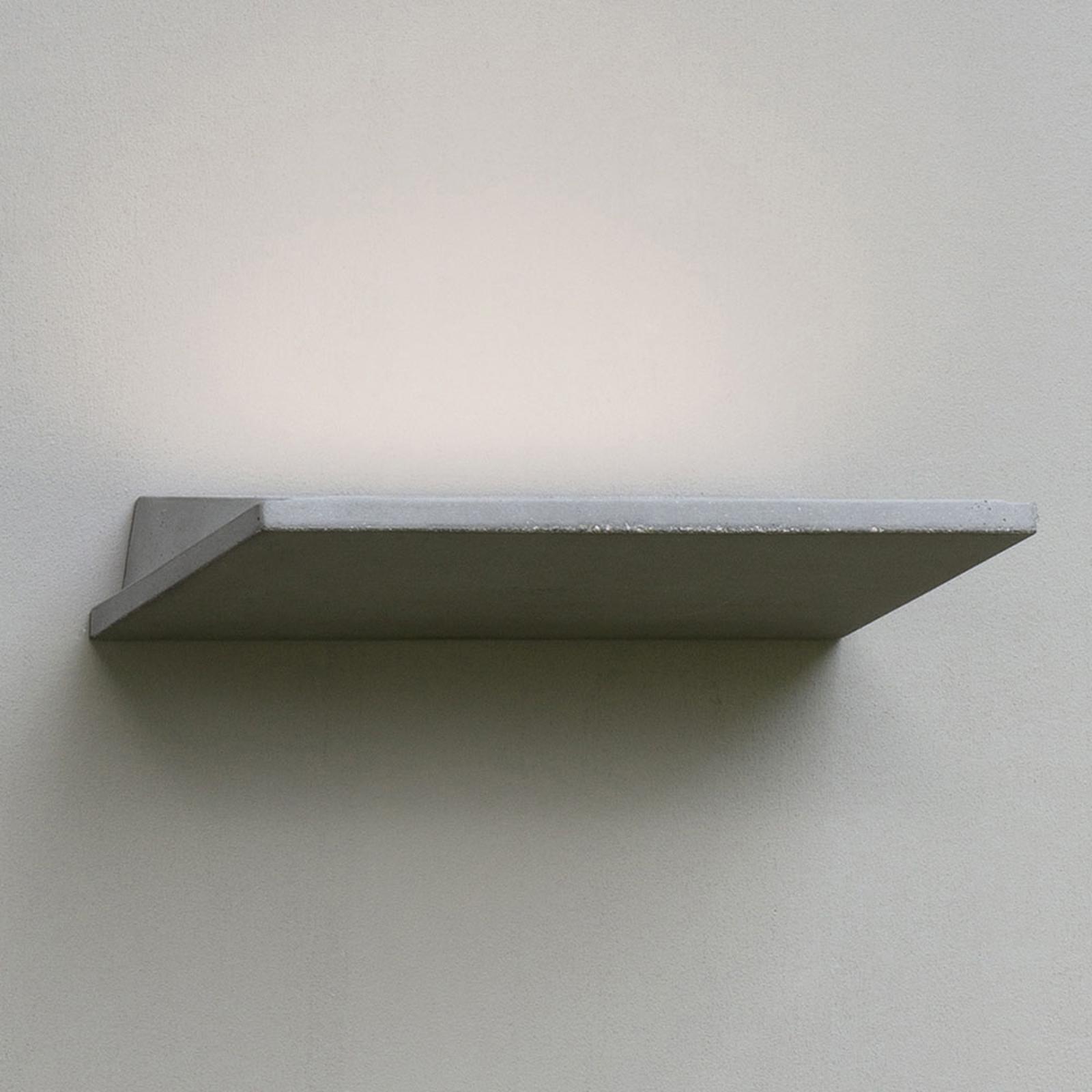 Martinelli Luce Plan Außenwandlampe oben strahlend