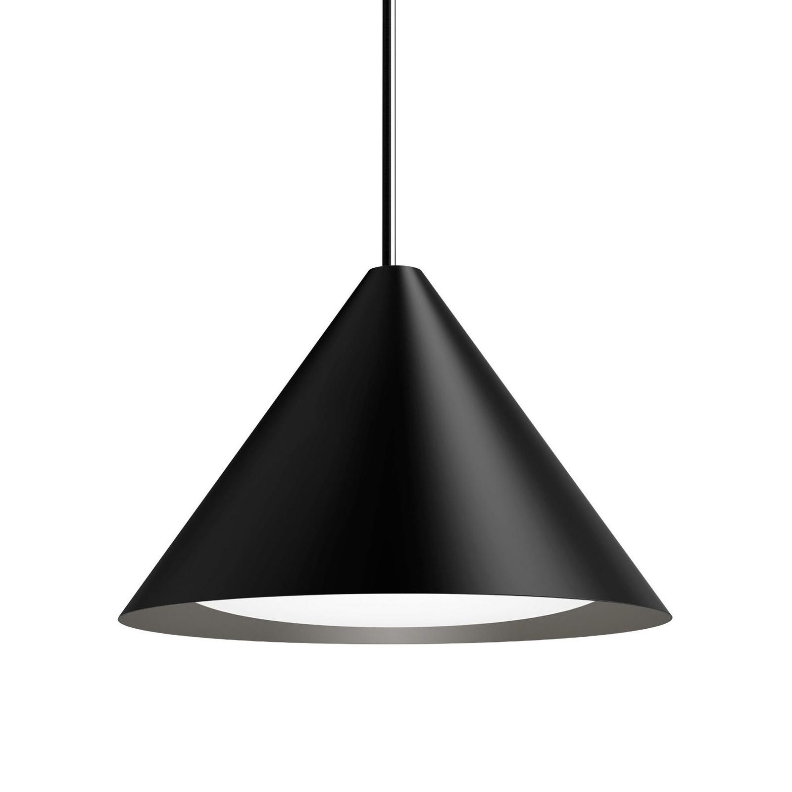 Louis Poulsen Keglen LED hanglamp 40cm zwart