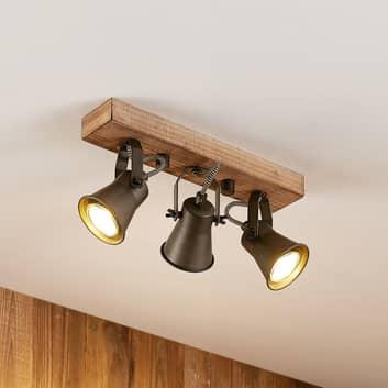 Lindby Grandesa foco de techo, 3 luces