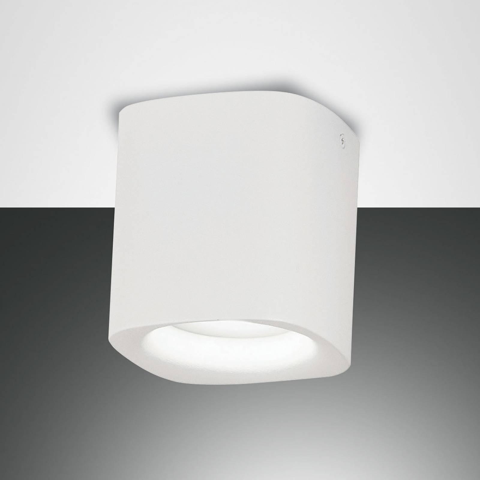 Plafondlamp Smooth, 1-lamp, wit, IP44