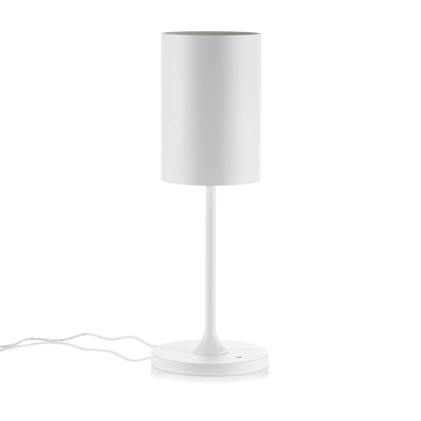 LOUM Pokula LED-bordlampe hvit