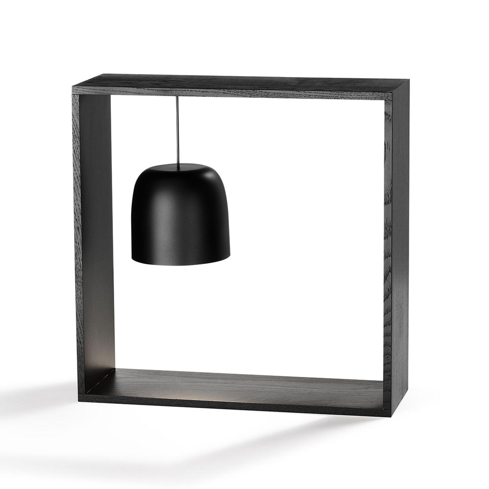 FLOS Gaku Wire LED-Tischleuchte, schwarz